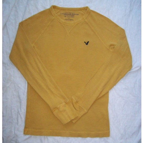 AEO AE Legend Vintage Fit Thermal Shirt - Size S